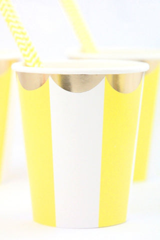 Lemon Burst Cups (Quantity 8)