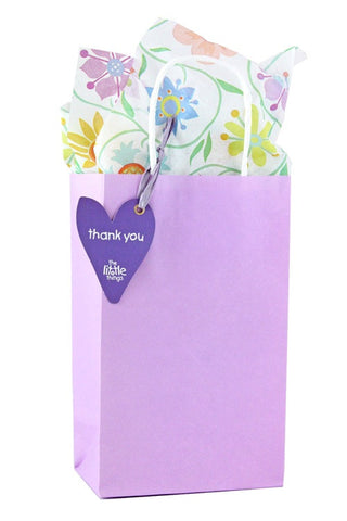 Lilac Luxury Party Bag With Choice Of Tissue