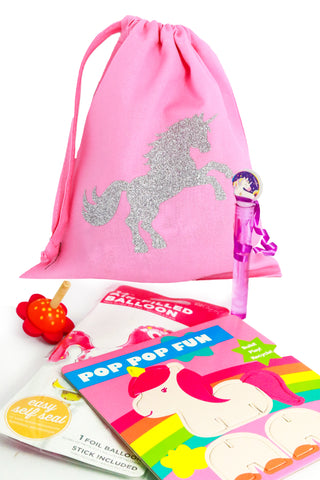 Pre Filled Fabric Party Bag -Little Unicorn - The Little Things