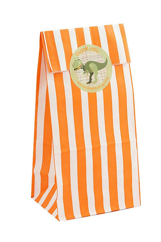 Orange Stripe Classic Party Bag - The Little Things