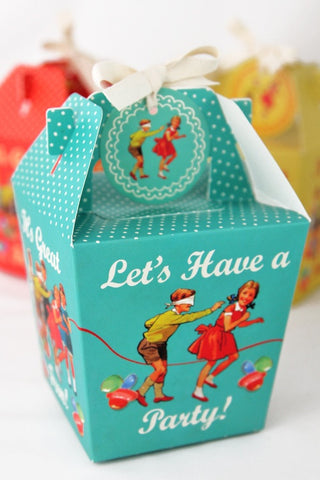 Panettone Style Boxes (Quantity 3)