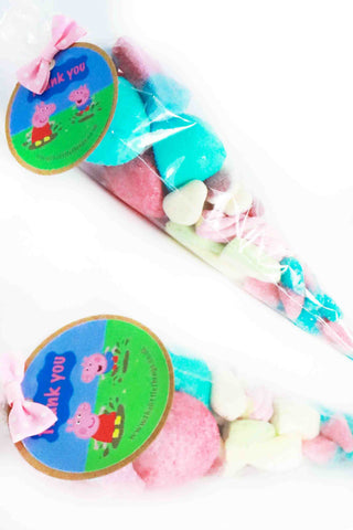 Pre Filled Peppa pig Sweet Cones - The Little Things