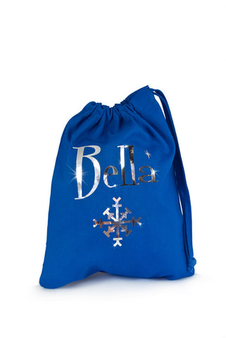 Personalised Fabric Bag Frozen