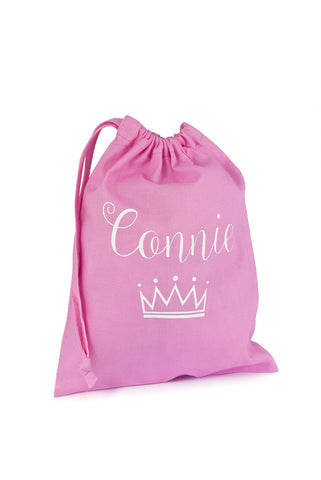 Personalised Fabric Bag Princess - The Little Things