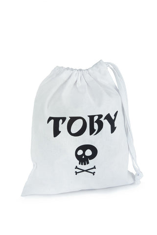 Personalised Fabric Bag Pirate from TheLittleThings, Party Bags