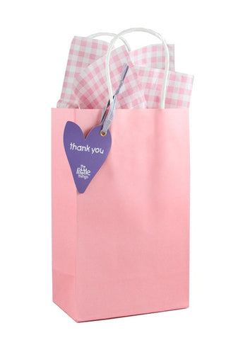 Pink Luxury Party Bag With Choice Of Tissue