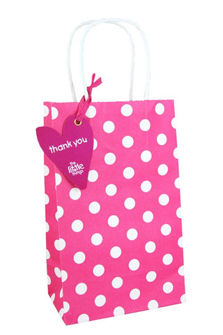 Pink Luxury Spots Party Bag - The Little Things