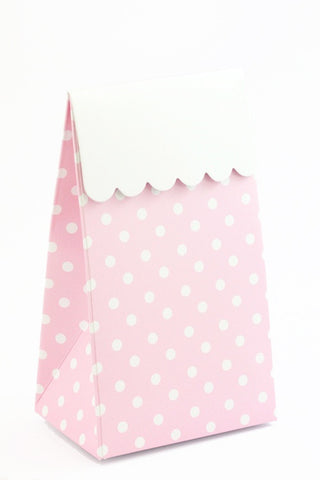 Pink Polkadot Favour Box - The Little Things