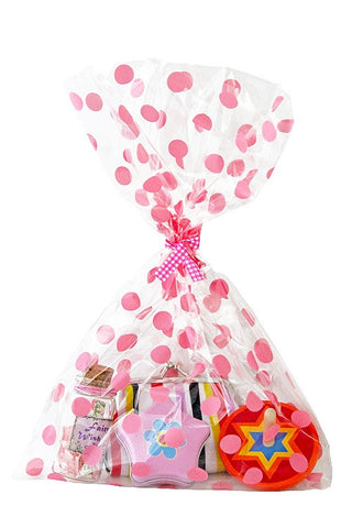 Pink Spots Cello Party Bag - The Little Things