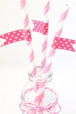Pink Spotty Washi Tape - The Little Things