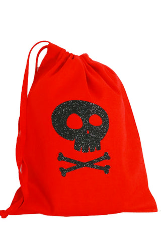 Pirate Fabric Party Bag (pack of 5) - The Little Things