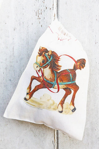 Pony Vintage Fabric Party Bag  - 1