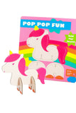 Pre Filled Paper Party Bag - Unicorn Pop Up - The Little Things