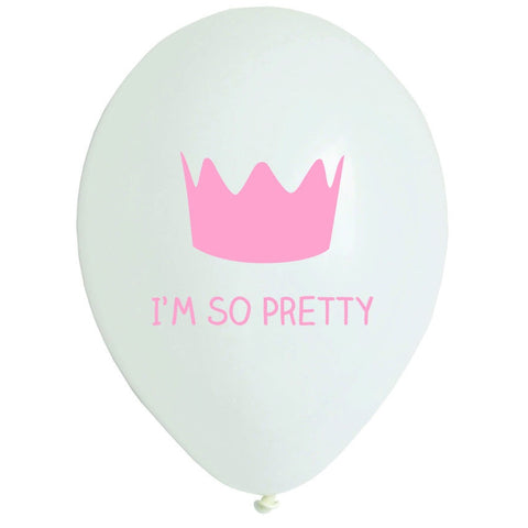 Princess Balloons ( Quantity 5 ) - The Little Things