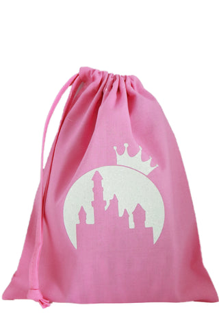 Princess Fabric Party Bag (pack of 5) - The Little Things