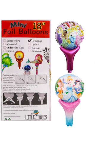 Mini Princess Foil Balloon