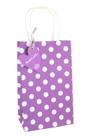 Purple Luxury Spots Party Bag  - 1