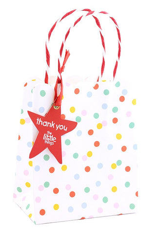 Rainbow Spots Party Bag - The Little Things