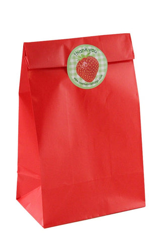 Red Classic Party Bag - The Little Things