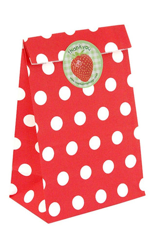 Red Spots Classic Party Bag  - 1