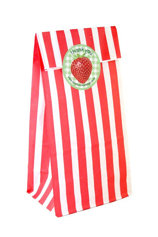 Red Stripe Classic Party Bag  - 1