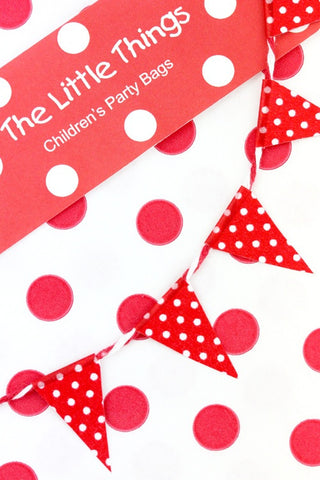 Red Spotty Washi Tape - The Little Things