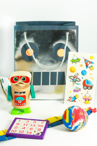 Pre Filled Party Bag - Robots - The Little Things