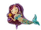 Mini Mermaid Foil Balloon - The Little Things