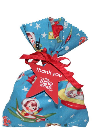 Space Cadet Fabric Party Bag  - 1