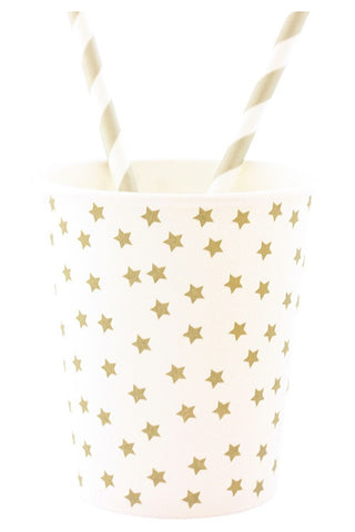 Gold Star Cups (Quantity 8) - The Little Things