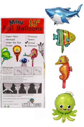 Mini Sea Life Foil Balloon - The Little Things