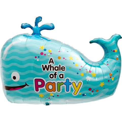Little Whale Foil Balloon