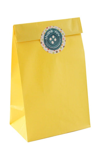 Yellow Classic Party Bag - The Little Things