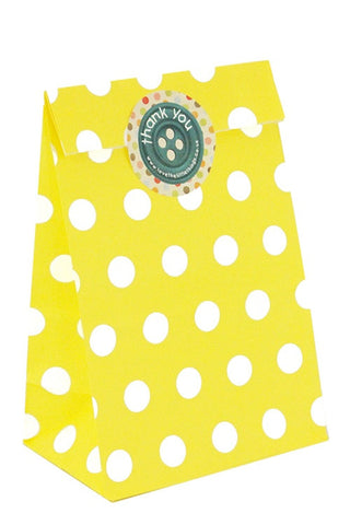 Yellow Spots Classic Party Bag - The Little Things