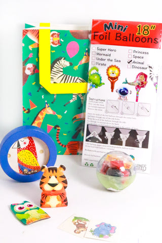 Pre Filled Party Bag - Jungle Animals - The Little Things