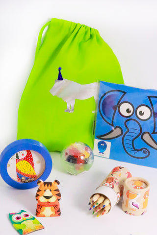 Pre Filled Party Bag - Jungle Fun - The Little Things