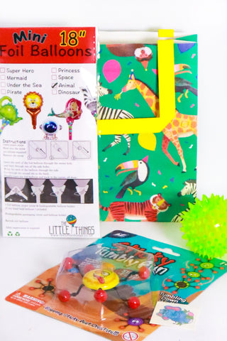 Pre Filled Party Bag - Animals - The Little Things