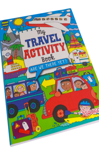 My Travel Activity Book