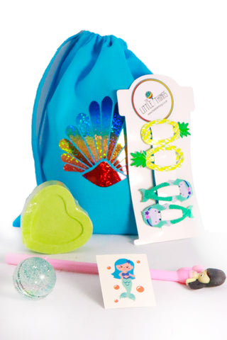 Pre Filled Party Bag - Big Mermaids - The Little Things