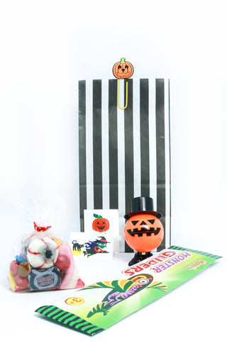 Pre Filled-Pumpkin Halloween Bag (Black) - The Little Things