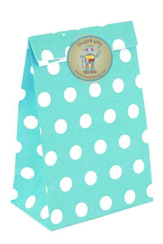 Blue Spots Classic Party Bag