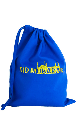 Eid Mubarak Fabric Bag - The Little Things