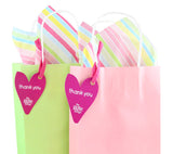 Green Luxury Party Bag With Choice Of Tissue