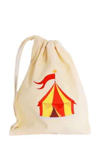 Circus Fabric Party Bag