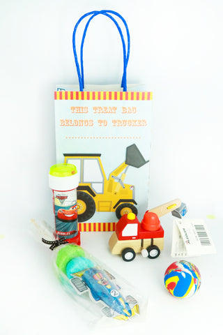 Pre Filled Party Bag- Construction - The Little Things