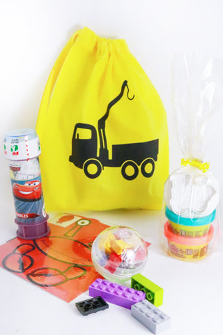 Pre Filled Party Bag - Construction is Fun - The Little Things