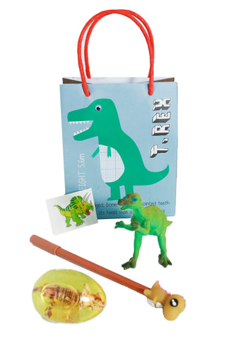 Pre Filled Party Bag-T Rex