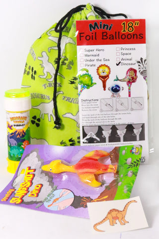 Pre Filled Party Bag - Tiny Dinosaur