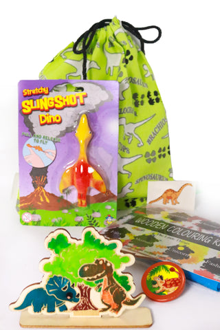 Pre Filled Party Bag - Colourful Dinosaur