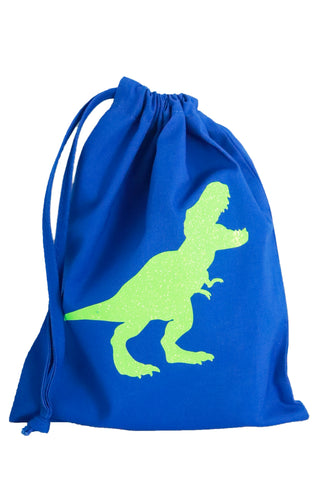 Dinosaur Fabric Party Bag (pack of 5) - The Little Things